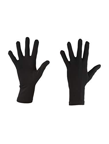 Icebreaker Adult Oasis Glove Liners Gants Mixte, Noir, FR : M (Taille Fabricant : M)