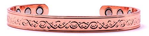 bracciale uomo rame Origin Bracciale della Salute ANTIARTRITICO BIOTERAPEUTICO Magnetico in Rame. SCB667.