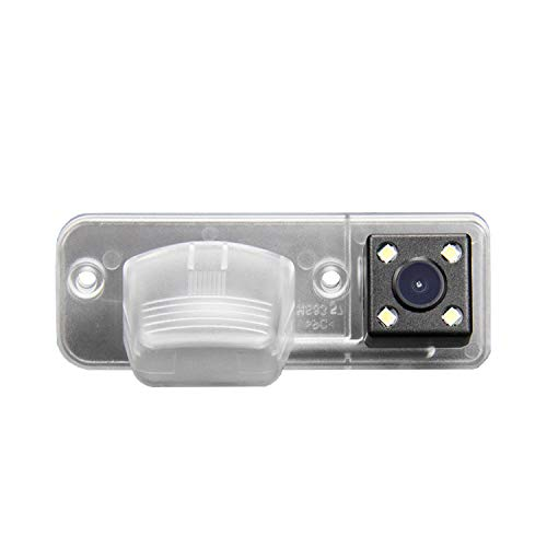 Newbee Caméra de Recul Voiture en Couleur Kit Caméra vue arrière de voiture Imperméable IP67 avec large Vision Nocturne pour VW T4 Multivan Transporter Caravelle Business
