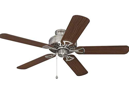 Harbor Breeze Classic 52-in Brushed Nickel Indoor Ceiling Fan