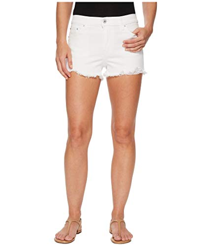 Levi's Women's High Rise Shorts, Soft Destructed White, 28 (US 6)