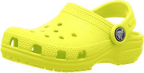 crocs Unisex-Kinder Classic Kids Clogs, Grün (Citrus 738), 30/31 EU
