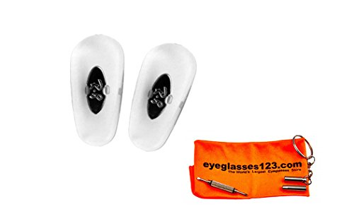Ray-Ban Sunglasses Replacement RB3025 Clear Nose Pads