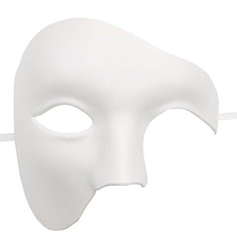 Flywife Hombres Phantom of The Opera Mascarada Máscara