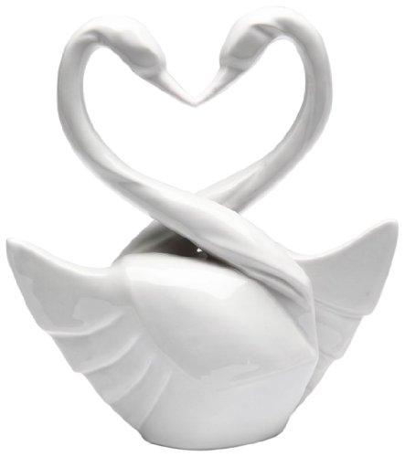 Appletree Design Die perfekte Hochzeit Swan Tortenaufsatz, 5–3/4-Zoll