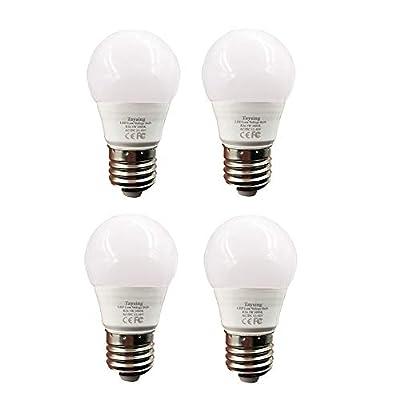 12 v Low Voltage led Light Bulbs AC DC 12V 24V 36V 48V E26 Soft White 3000K 3W 4 Pack for Off Grid Solar Lighting Marine Boat RV 12v Interior Lighting Warm White for Camper (3W-4 Pack)