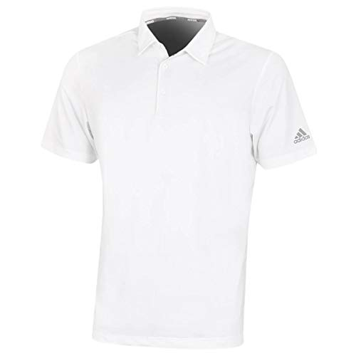 adidas Golf Ultimate365 2,0 Crestable - Polo para hombre (talla XL), color blanco