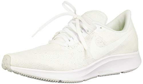 Nike Women's Air Zoom Pegasus 35 White/Summit White-Pure Platinum Size 7.5