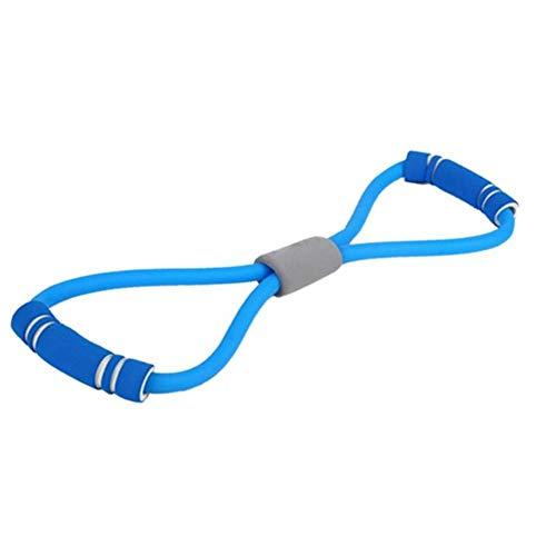 YHDNCG Fitness 8 Banda elástica expansor de Pecho Cuerda de expansión Ejercicio físico Banda de Resistencia Equipo de Fitness Entrenamiento de Yoga