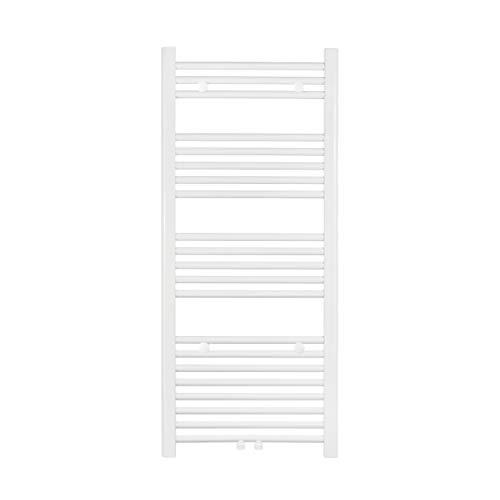 VILSTEIN Flachheizkörper, Horizontal, Weiß, Seitenanschluss und Mittelanschluss, 1150x500 mm