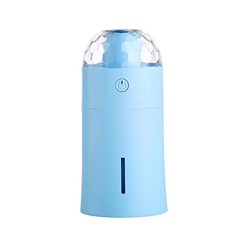 Check Out This NA yuandakeji Magic Colorful Lights Mini humidifier USB Small car humidifier (Blue)