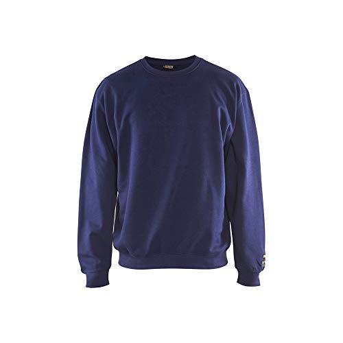 Blaklader 3074176089004XL Sweat-shirt difficilement inflammable Bleu marine Taille 4XL