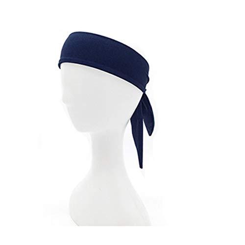 JMITHA Outdoor Sport Schweißband, Anti-Rutsch Unisex Stirnband Headband, Sweat Schals Laufen Tennis Fitness Piraten Stirnband Bandana für Yoga Basketball Fahrrad, Schnell Trocken (bantoudai09)