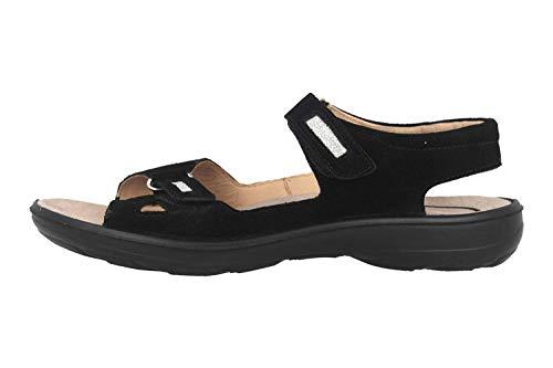 Jomos Sandalen in Übergrößen Schwarz 890607 988 0095 große Damenschuhe, Größe:42