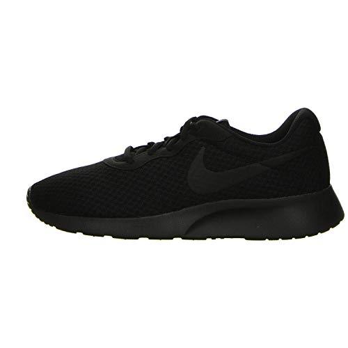 Nike Tanjun, Scarpe da Corsa Uomo, Black/Black-Anthracite, 43 EU