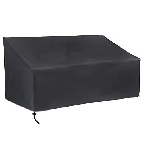 YYQIANG Housse de banc de patio/causeuse 100 % imperméable pour canapé extérieur, 190*66*89CM