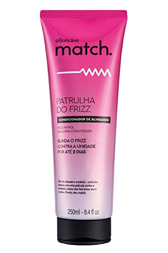 Match Frizz Patrol Conditioner | 8x Less Frizzy Hair | Hydrating Anti Frizz Hair Products & Frizz Free Conditioner with Avocado Oil & Creatine | Hair Care Hair Products for Frizzy Hair