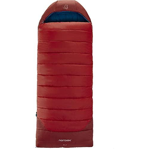 Nordisk Puk -2 Blanket Schlafsack M rot/blau 2021 Quechua Schlafsack