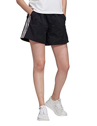 adidas Damen Adicolor Shorts, Black/White, 40