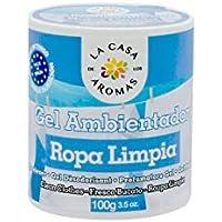 lacasadelosaromas Bote Ambientador Gel Aroma (Ropa Limpia)