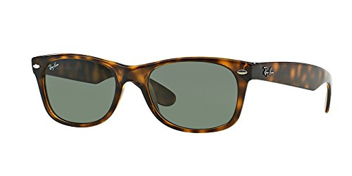 Ray Ban RB2132 902L 55M Tortoise/Green+FREE Complimentary Eyewear Care Kit