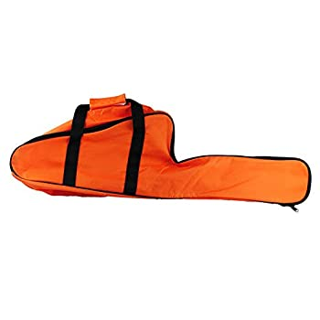 Chainsaw Bag Carrying Case Portable Protection Waterproof Holder Fit for Stihl Husqvarna 12  /14  /16   Chainsaw Storage Bag Orange