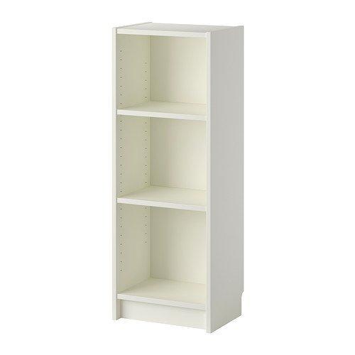 Ikea Billy estante en blanco; (40x 28x 106cm)