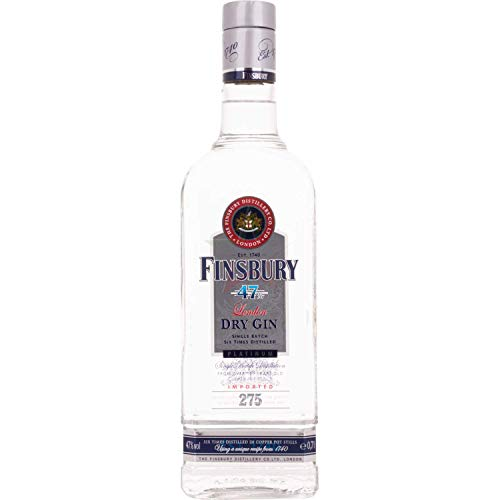 Finsbury PLATINUM London Dry Gin 47,00% 0,70 Liter