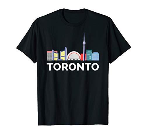 Toronto Skyline - The 6ix CN Tower Souvenir, Canadian Pride T-Shirt