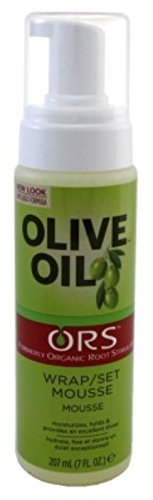 Ors Olive Oil Mousse Wrap/Set 7 Ounce (207ml) by Organic Root (ORS)