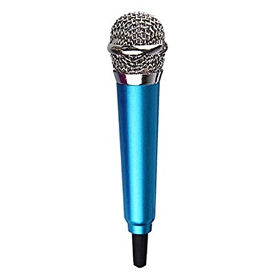 Mobile Phone Microphone 3.5mm Jack Plug Mini Condenser With Studio Voice Sing Professional Microphone With Earphone