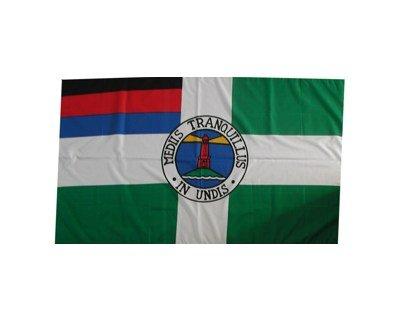 Fahne Borkum Insel Grösse 1,35x0,95m