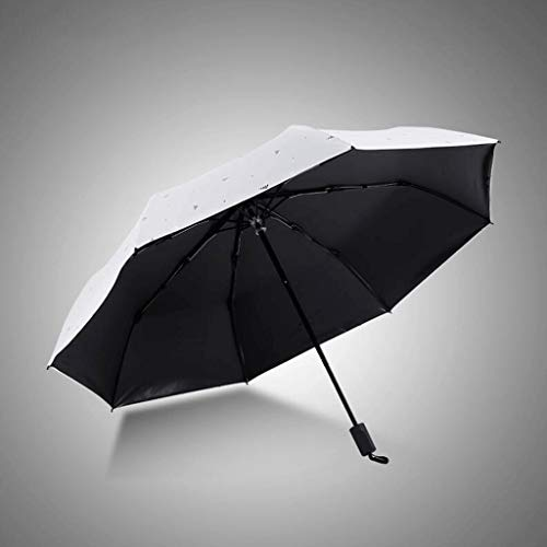 LYMUP Sun Umbrella Sunscreenrr Paraguas Estudiante Diosa Soportabla Soleado Plegable Pequeño Pequeño Fresco