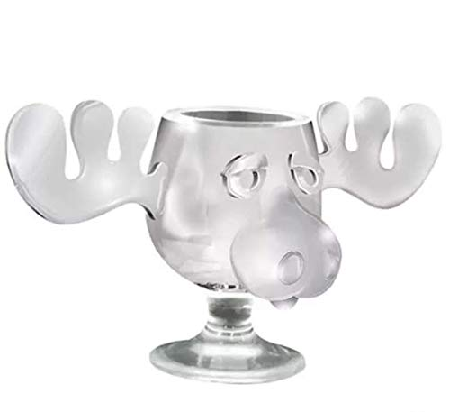 National Lampoon's Christmas Vacation Acrylic Moose Mug 2-Pack 4.5 fl. oz each