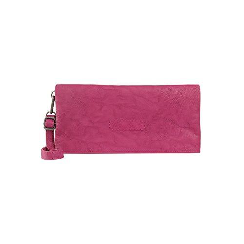 Fritzi aus Preussen Damen Ronja Clas Clutch, Pink (Fuchsia), 3x15x29 cm