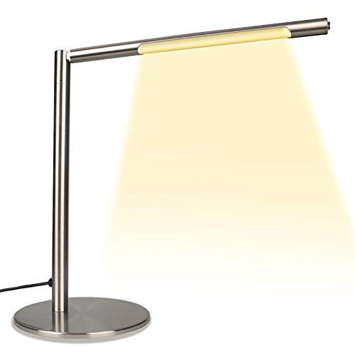 Lampada da tavolo, lampada da tavolo, dimmerabile da tavolo, 3 livelli di luminosità × 3 modalità di colore luce di lettura per ufficio, casa, studio, lavoro