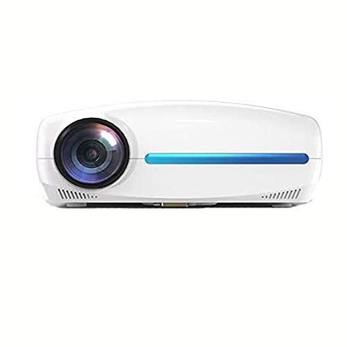 XIXIDIAN Proyector, proyector portátil, admite Pantalla de Alta definición de 1080p, Compatible con PS4, HDMI, VGA, TF, AV para el Cine en casa, Juegos de Entretenimiento