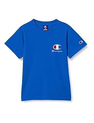 [チャンピオン] Tシャツ 吸水速乾 スクリプトロゴ ボーイズ スポーツ CK-TS320 ブルー 160