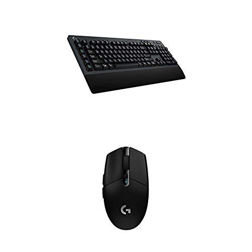 Logitech G613Lightspeed Wireless Mechanical Gaming Keyboard and G305 Lightspeed Wireless Gaming Mouse