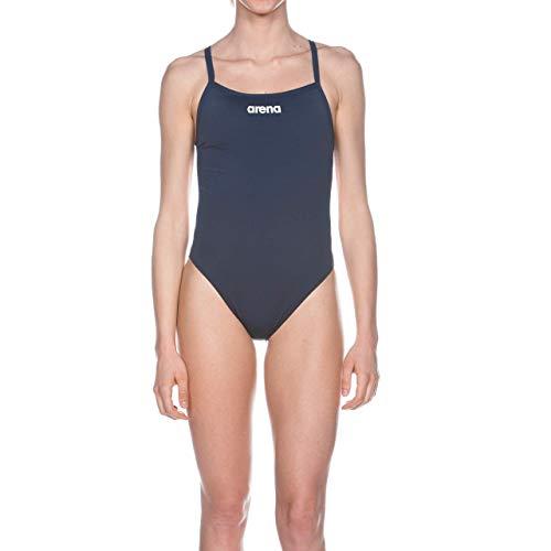 Arena W Solid Light Tech High, Costume Sportivo Donna, Blu (Navy/White), 36