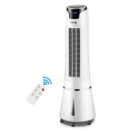 Ventilador de torre oscilante, ventilador de escritorio, con 3 velocidades, enfriamiento silencioso, oscilación de 60 °, tanque de agua de 3 L, utilizado en la oficina en casa del dormitorio