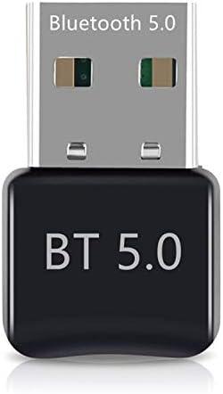 Adaptador Bluetooth, transmisor Bluetooth para PC, Adaptador Bluetooth Dongle 5.0 para Ordenador portátil, Compatible con Windows 10/8/7/Vista/XP/ratón y Teclado/Auriculares/Altavoz