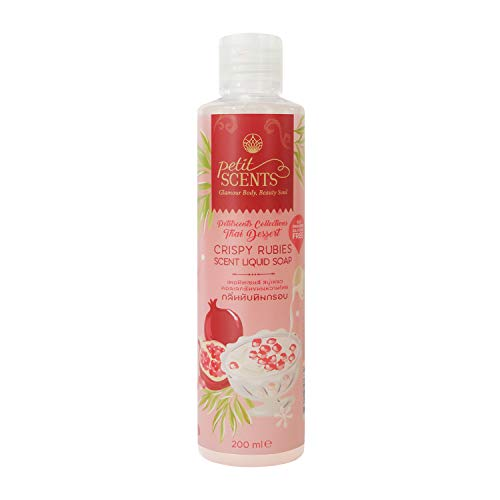 Petitscents Shower Gel/Body Cleansing Made with Vitamin E beads, Pampering Thai Coconut Oil, Invigorating & Moisturizing Best Body Washes for Women - 200 ML | 6.8 FL.Oz