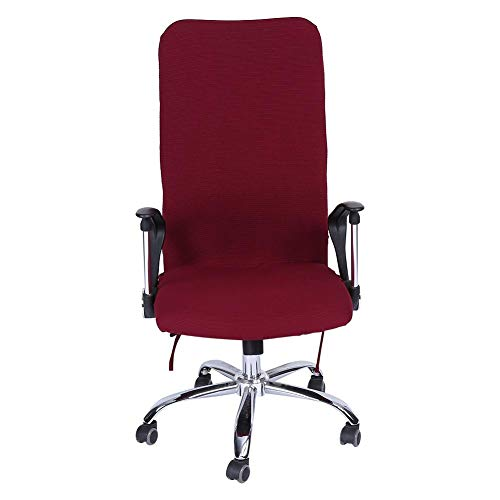 AUNMAS bureaustoel Cover 1Pc L/M/S Verwijderbare Stretch Swivel stoelhoezen bureaustoel comfortabele stoel Slipcovers