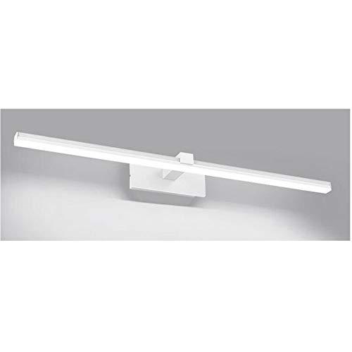 LED-spiegel, verlicht, badkamer, 9 W, 40 cm, 230 V, IP44, lamp voor kast, spiegel, wandlamp, binnenverlichting, moderne badkamerverlichting [energie-efficiëntieklasse A+] 80CM-18W Koel wit