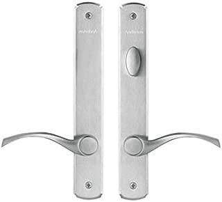 Andersen Newbury Style (Double Active) Hinged Door Hardware Set in Satin Nickel