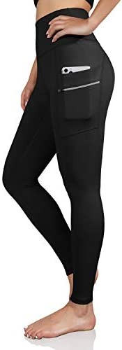 ODODOS Women s High Waisted Full Length Dual Pockets Workout Leggings Yoga Running Gym Athletic product image
