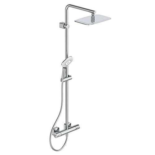 IDEAL STANDARD A6986AA CERATHERM 100 NEW Columna de ducha con mezclador termostático externo - Cromado