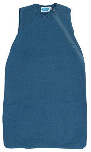 Reiff - Fleeceschlafsack ohne Arm 74/80 in pazifik - erstellt von Wollbody®
