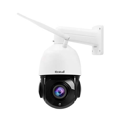 5MP PTZ WiFi Security Camera Outdoor, 20x Zoom Smart Surveillance IP Camera, 1000ft View Distance/SDM Array IR Night Vision/ Detection Alarm / 2-Way Audio/SD Card Slot/ ONVIF/ IP66 Waterproof